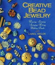 Creative Bead Jewelry: Weaving