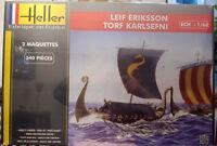 Wikingerschiffe Langboot Leif Eriksson Thorfinn Karlsefni 1:60 Heller 80853