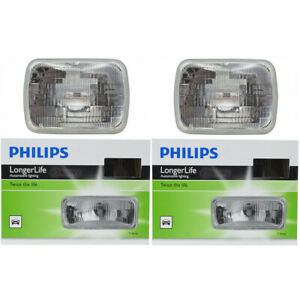 2 pc Philips H6054LLC1 Long Life Headlight Bulbs for 14752 Electrical js