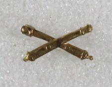 Army Collar Pin: Field Artillery Officer - 1920/30's shirt size