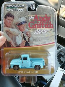 Greenlight 1956 ford f100 the Andy Griffith show, DieCast 1/64