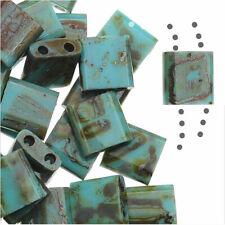 40 gram 4//0 Opaque Slate Blue Czech Seed Bead #CSU015