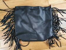 Victoria's Secret Black Tassle Backpack BNWT