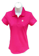 New NIKE AD Athletic Dept Womens Cotton Polo Golf Shirt Pink S