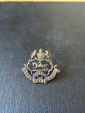 Natal Royal Regiment Cap Badge Boer War and Zulu Rebellion. South African