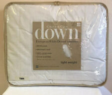 Charter Club European White Down Lightweight Twin Comforter $280