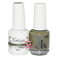 GELIXIR Soak Off Gel Polish Duo Set (Gel + Matching Lacquer) - 123