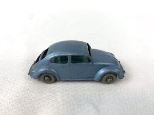 Lesney Matchbox - Volkswagen VW 1500 Sedan Beetle, No.25 - No Trunk