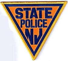 NEW JERSEY STATE POLICE - SHOULDER IRON ON PATCH