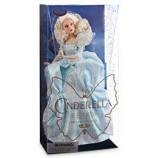 Deluxe Disney Store Fairy Godmother Cinderella Movie Doll Film Collection BNIB