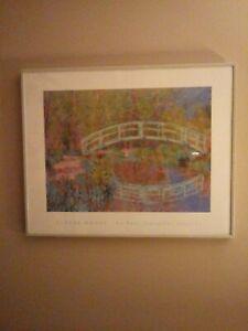 Claude monet prints framed