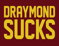 DRAYMOND SUCKS shirt Cleveland Cavs Golden State Warriors NBA Finals Green