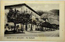 Cartolina Formato Piccolo - Bagni Di San Giuliano - Via Garibaldi Non Viaggiata