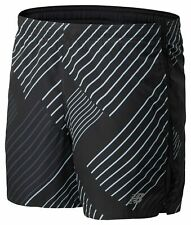 New Balance Men's Printed Accelerate 5 Inch Short Black