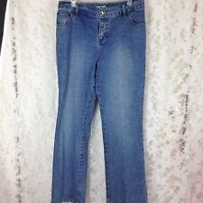 DUCK HEAD womens blue jeans 5 pocket size 12 checked patern material