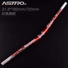 31.8*720mm/780mm Astro FR DH AM MTB Bike Bend Handle Bar Riser Handlebar