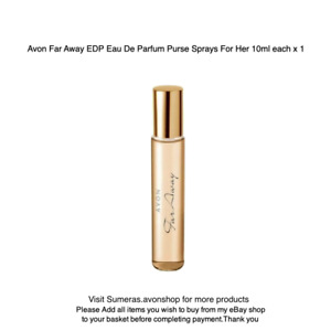 Avon Far Away EDP 10ml Perfume Purse Spray~Travel/Handbag Gr8 Christmas Day Gift