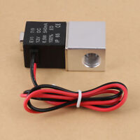 """1/4"""" NPT Normally Closed Electric Solenoid Air Valve Gas Water Flow Switch"""