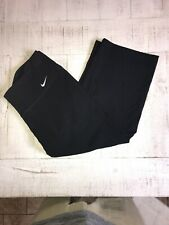 Womens Size Medium Nike Capri Pants Black