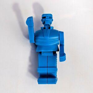 2012 Mattel Burger King Kids Meal Toy Rock Em Sock Em Robot Blue Bomber Figure