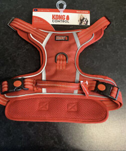 Kong Control Adjustable Reflective Dog Harness with handle size Large  Rrp £34