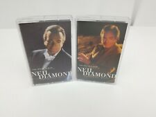 Neil Diamond Cassette Tapes Set of 2 The Movie Album As Time Goes By FREE SHIP