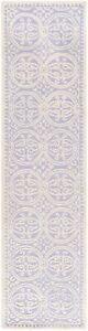 Safavieh Cambridge LAVANDER / IVORY Wool Runner 2'-6 x 10' - CAM123C-210