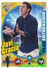 483 JAVI GRACIA ESPANA MALAGA.CF PLUS ENTRENADOR CARD ADRENALYN 2015 PANINI