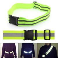 Reflective Secure Elastic Waist Belt Sports Running Waistband Outdoor Sports PS