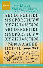 Marianne Design Clear Rubber Stamps ELINE'S HANDLETTERING LIGHT EC0158