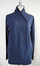 NEW LULULEMON Belle Wrap Jacket Inkwell Blue Stretch French Terry size 6 NWOT
