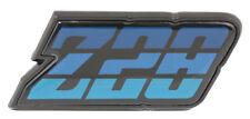1980-1981 CAMARO Z28 REAR FUEL DOOR TAIL LIGHT PANEL EMBLEM BLUE