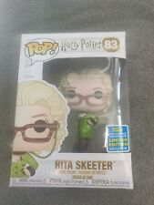 Funko Pop Harry Potter 83 Rita Skeeter 2019  Summer Convention Exclusive