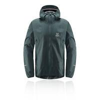 Haglofs Mens L.I.M Proof Multi Jacket Top - Green Sports Full Zip Hooded