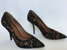 GIVENCHY LACE OVERLAY POINT TOE PUMP sz 36 MSRP $895