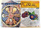 Floral Patterns  Flower Designs Adult Kids Coloring Book Series Books 2 Pack