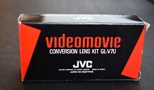 JVC Videomovie Conversion Lens Kit   GL-V7U   Tele/Wide Lens   Camcorder   Movie