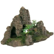 Trixie Rock Formation, Caves, Plants Aquarium Ornament Fish Tank Decoration 22cm