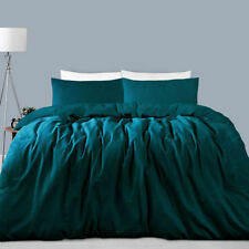 Accessorize Patternless 100% Cotton Quilt Covers