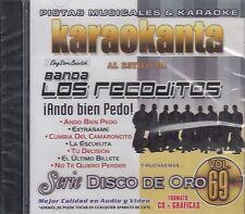 Banda Los Recoditos Ando Bien Pedo Vol 69 Karaoke New SEALED