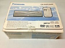 Panasonic CX-DVP292N In Car DVD CD Player