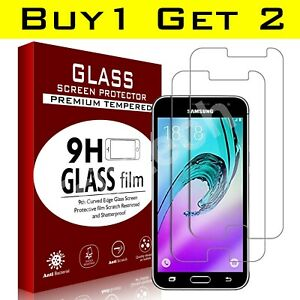 For Samsung Galaxy J3 / J3 (2016) Glass Screen Protector - 100% Genuine Tempered