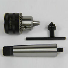 "1/16-1/2"" CAPACITY THREADED DRILL CHUCK & 1/2""-20-2MT ARBOR FOR WOODWORKING MT2"