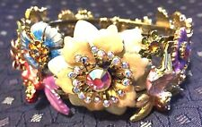RARE KIRKS FOLLY FAIRY CUFF BRACELET RETIRED GORGEOUS