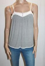 SPENCER LACY Brand Pink Lace Trim Sleepwear Cami Top Size M BNWT #Si59