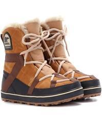 Sorel Glacy Explorer Shortie 'Linea Donna Stivali Impermeabili. UK 8.5, e 41.5, cm 27.5