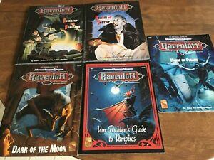 Dungeons and Dragons Lot - Ravenloft +++