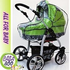 New Baby Universal Pram Carry Cot Bassinet Rain Cover