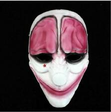 Game PAYDAY 2 The Heist Hoxton Mask Costume Props Halloween Collection Mask #48