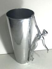 Silver Decorative Dancer Vase